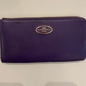 Coach Bags - Purple Coach Wristlet